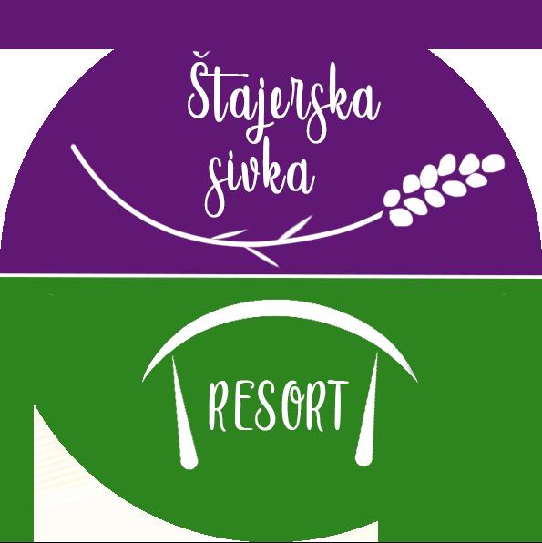 Štajerska sivka Resort logotip